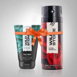 Wild Stone ultra sensual Deo and face wash combo