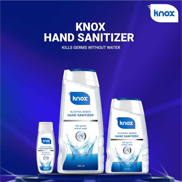 Knox Hand Sanitizer Without Water
