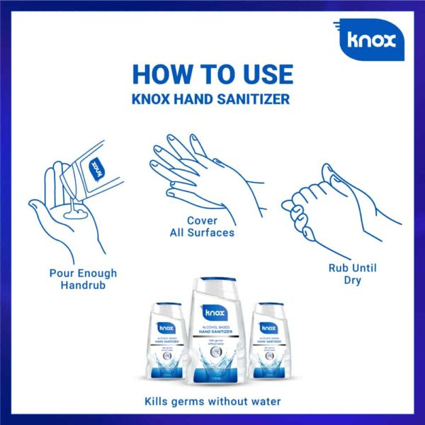 Knox Hand Sanitizer How to Use